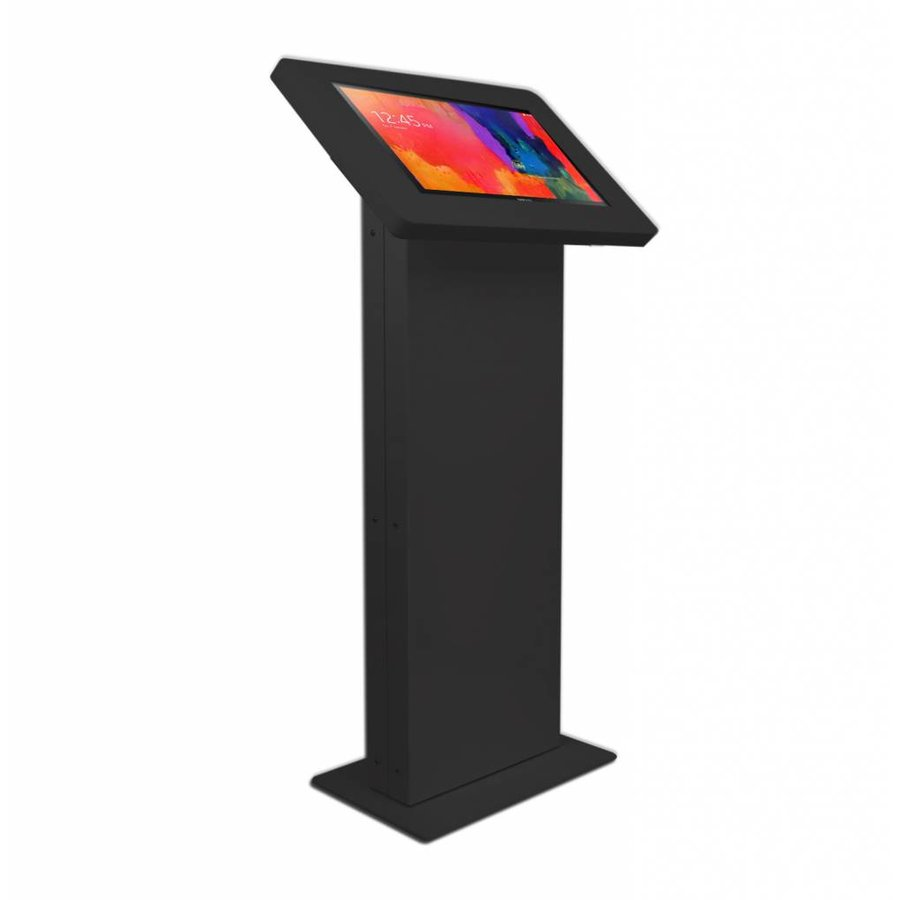 Monitor & Touch screen Floor stand, Largo, Meglio cassette, black