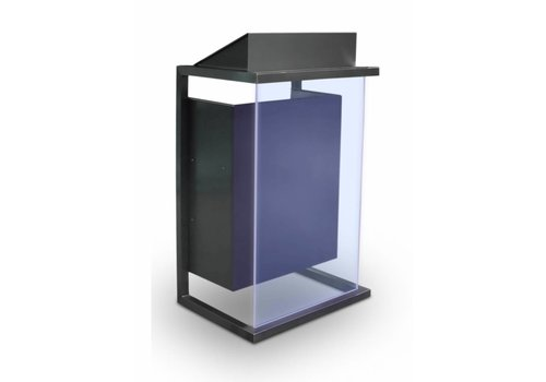 Bravour Box -stainless steel lectern wit acrylic or wood front panel