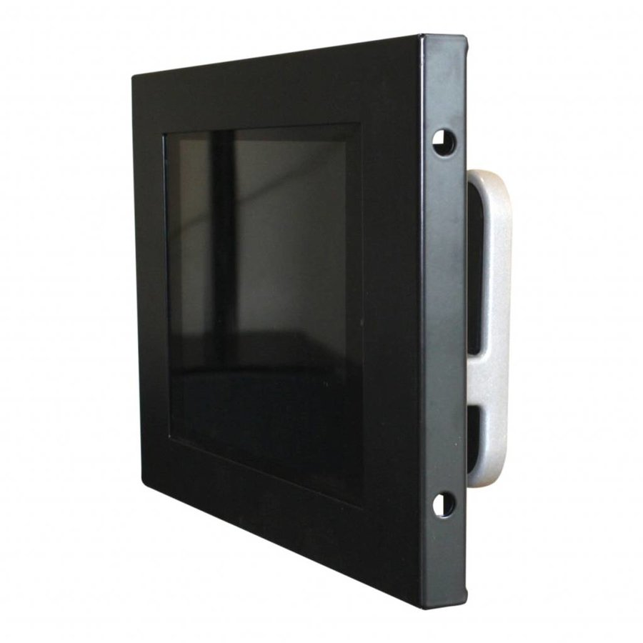 """Tablet wall mount Flessibile at 125 mm from the wall with Securo enclosure voor Samsung Galaxy Tab A 10.1"""", black"""