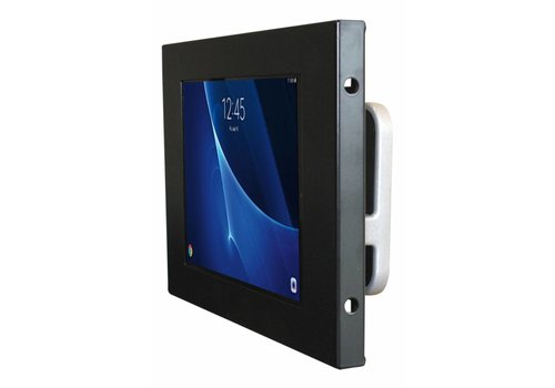 "Bravour Tablet wall mount Flessibile with Securo casing for Samsung Tab A 10.1"". 125 mm from the wall, black"