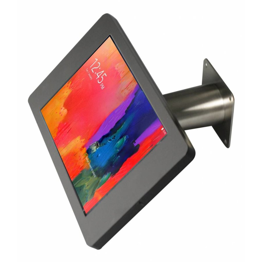 "Desk or wall mount for Samsung Galaxy Note Pro 12,2""black or white with stainless steel Fino"