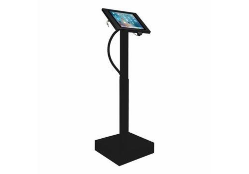 """Bravour Soporte de pie con sistema eléctrico de altura ajustable para iPad Pro 12.9"""" carcasa en acrílico"""