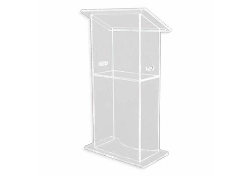 Bravour Jasmine - clear acrylic lectern