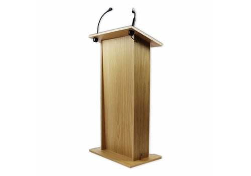 Bravour Rhea - licht gewicht hout fineer spreekgestoelte