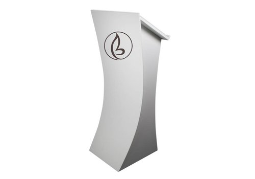 Bravour Logo or company name on front display of the lectern
