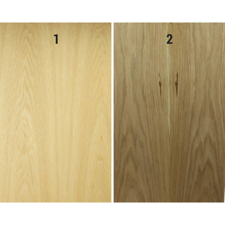 Pollux - Completely wood veneer Oak lectern