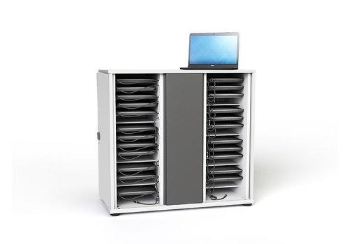 "Zioxi Gabinete para cargar hasta  32 Chromebook Macbook Laptop Tablet hasta 14"""