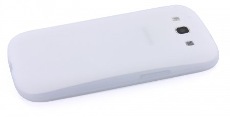 Samsung Galaxy S3 Siliconen Case Transparant