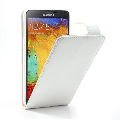 Galaxy Note 3 Flipcase PU Leder Wit