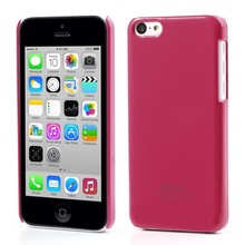 Roze glanzende iPhone 5C hardcase