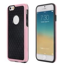 Roze duo protect iPhone 6 TPU hoesje