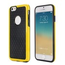 Geel duo protect iPhone 6 TPU hoesje