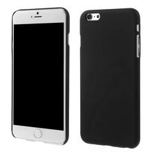 Zwart effen iPhone 6 Plus hardcase