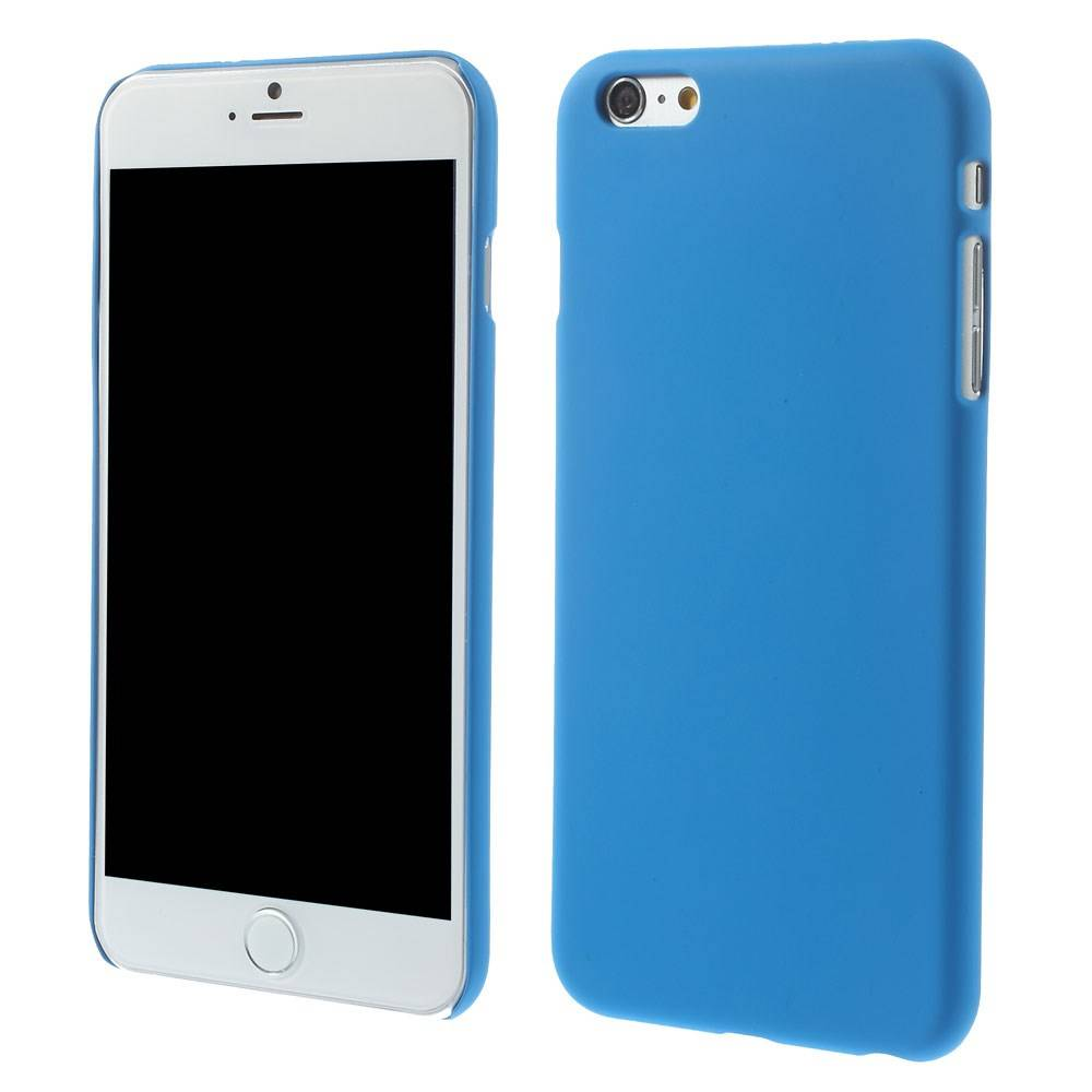 Blauw effen iPhone 6 Plus hardcase
