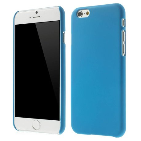 Blauw effen iPhone 6 hardcase