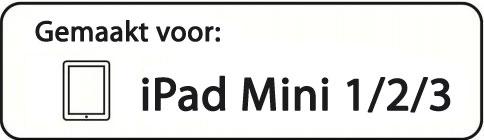 Hoesje geschikt voor de iPad Mini