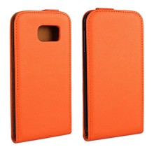 Samsung Galaxy S6 Flipcase oranje