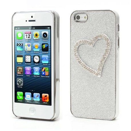Bling 3D hartje iPhone 5/5S hardcase