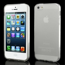 Transparant iPhone 5/5S TPU hoesje
