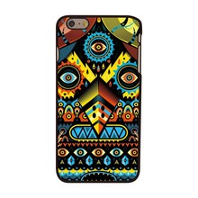 Tribal uil iPhone 6 plus hoesje
