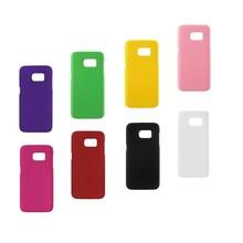 Meerdere kleuren verkrijgbaar met rubber bekleed Galaxy S7 hoesje