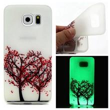 Glow in the dark liefdesboom TPU hoesje Galaxy S7 Edge