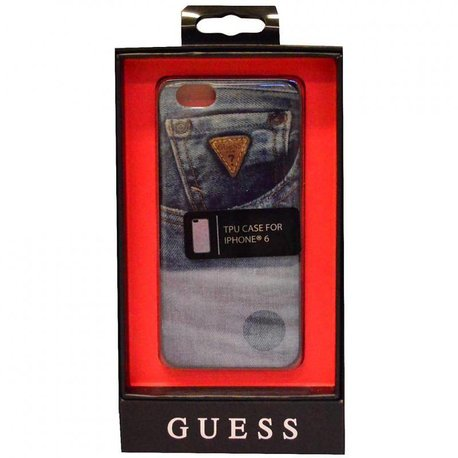 Guess Jeans hardcase blauw iPhone 6