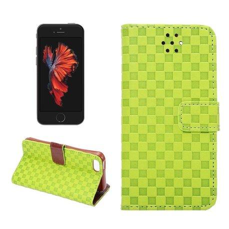 Grid ontwerp relief voor iPhone SE, 5 en 5S
