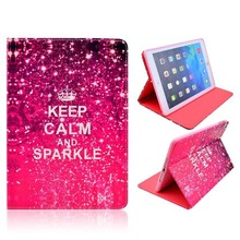 Keep calm and sparkle iPad Air bookcase