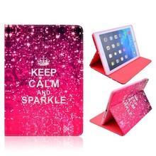 Keep calm and sparkle iPad Air bookcase