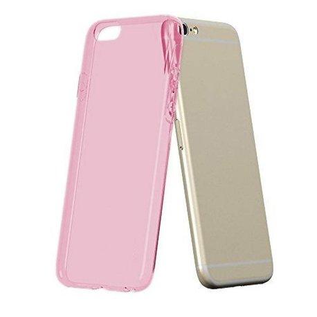 flexibel roze transparant TPU hoesje voor de Galaxy J5 2016