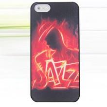 Jazz glow in the dark iPhone SE, 5 en 5S hardcase hoesje