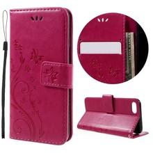 Roze luxueus afgewerkt iPhone 7 portemonnee hoesje