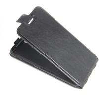 iPhone 7 Flip case zwart pu leer