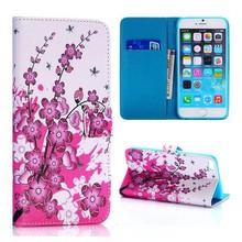 Bloesem iPhone 6 PLUS  portemonnee hoes