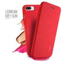 LeNuo Rode Ledream iPhone 7 plus flipboek style hoesje