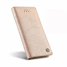 Xundd iPhone SE, 5 en 5S portemonnee hoesje roze leder
