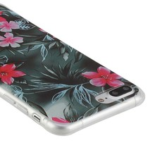 Bloemen Iphone 7 plus flexibel hoesje