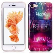 iPhone 7 flexibel hoesje  geloof, hoop en liefde