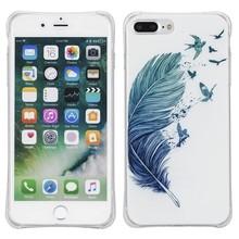 Veer met vogels. Iphone 7 plus flexibel hoesje