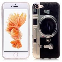iPhone 7 flexibel hoesje  Camera