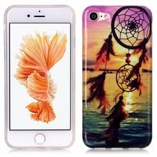 iPhone 7 flexibel hoesje  dromenvanger en zonsondergang