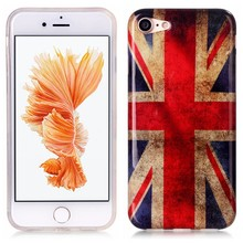 iPhone 7 flexibel hoesje  britse vlag