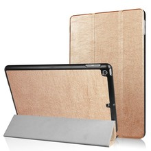 iPad 2017 en Air 1 Smart case II Goud