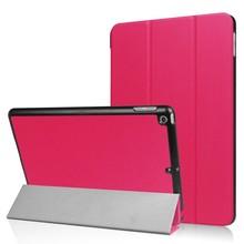 iPad 2017 en Air 1 Smart case II Donker roze