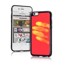 Thermo hoesje Galaxy S8 Rood wordt geel bij warmte