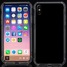 Transparant flexibel iPhone X TPu hoesje