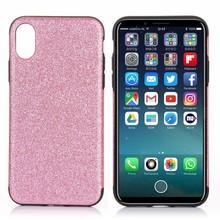Roze glitter. Iphone X