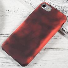 Thermo hoesje iPhone 7 en 8 Zwart wordt rood bij warmte
