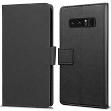 JustinCase Zwarte wallet hoesje Samsung Note 8